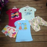 Brand new Surf Zone t-shirts for the girls and some shorts to go with them.