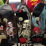 All new Powell Peralta fun shapes, featuring art work from the legendary VCJ! (sizes 8.4 x 31.5 and 8.2 x 31.5)