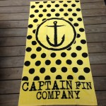 Get yourself a Captain Fin towel! Just one of many cool towels that we have available!