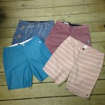 You could always use some new shorts! Here's a great selection of colors from Volcom, Billabong, and Quiksilver