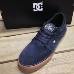 The Wes Kremer from DC in a Navy, gum rubber with that vilc construction for maximum board feel.
