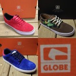 Here's all the sweet new arrivals from Globe! The Sabbath, The Motley, and the Delta.