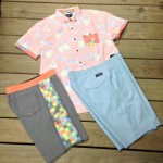 Here's some great spring time colors from Billabong and Quiksilver.