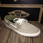 The Chauffer from Vans in a Khaki and Rasta color!  These shoes are terrific because the inside of them is like a sandal, so you can use them without socks!