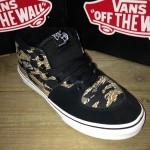 The Vans Half Cab with some of that Tiger Camo flair!