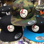 The latest Japi hats just arrived this week! The Ziggy Stardust one is the bee's knees!