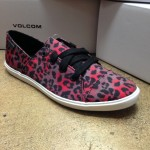 Volcom Festival shoe in cheetah print!