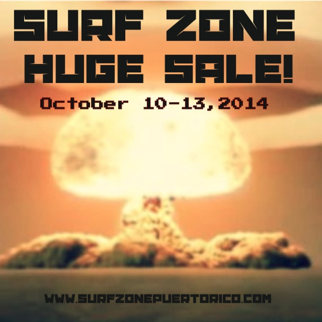 Huge sale October 10, 2014-October 13,2014