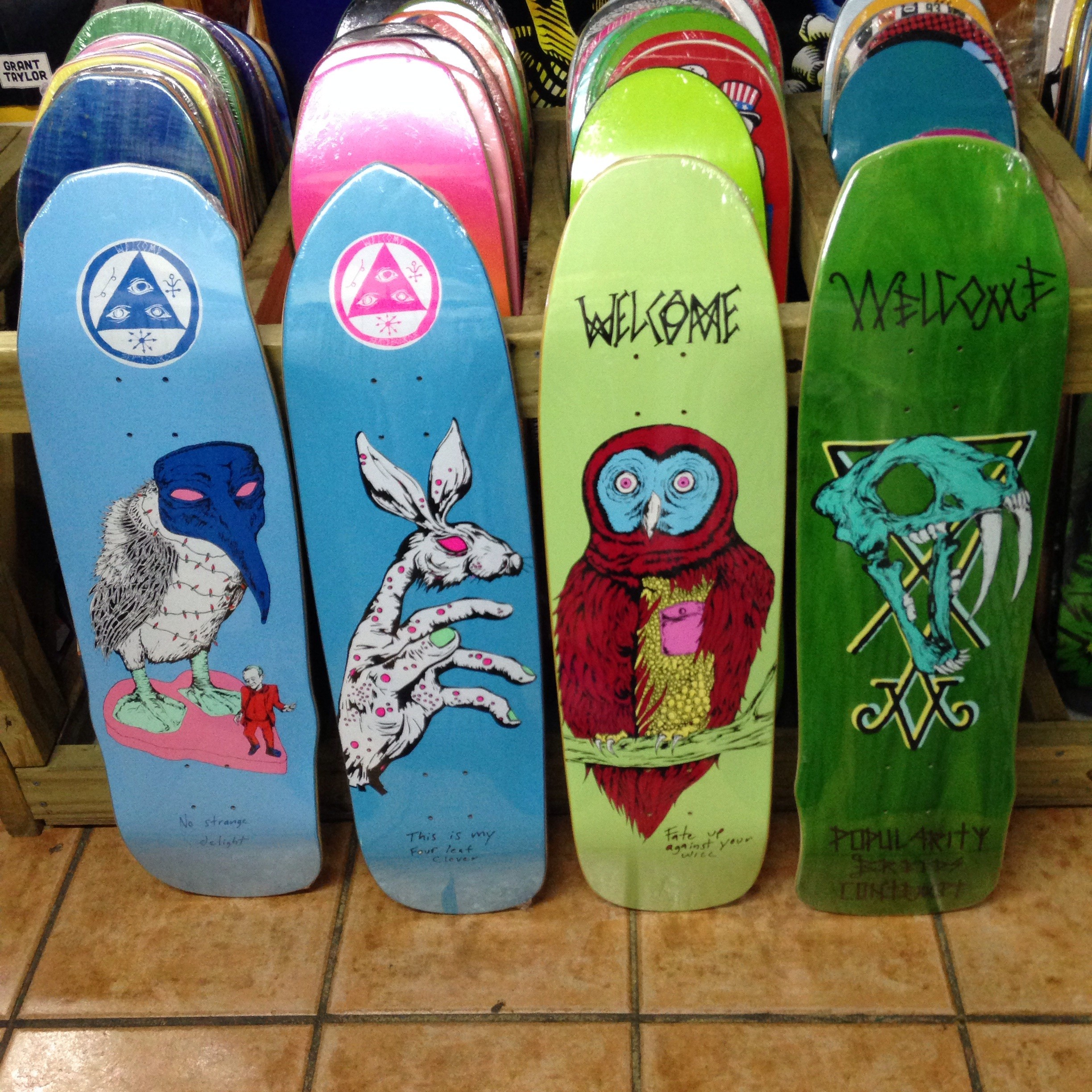 Welcome skateboards restock!