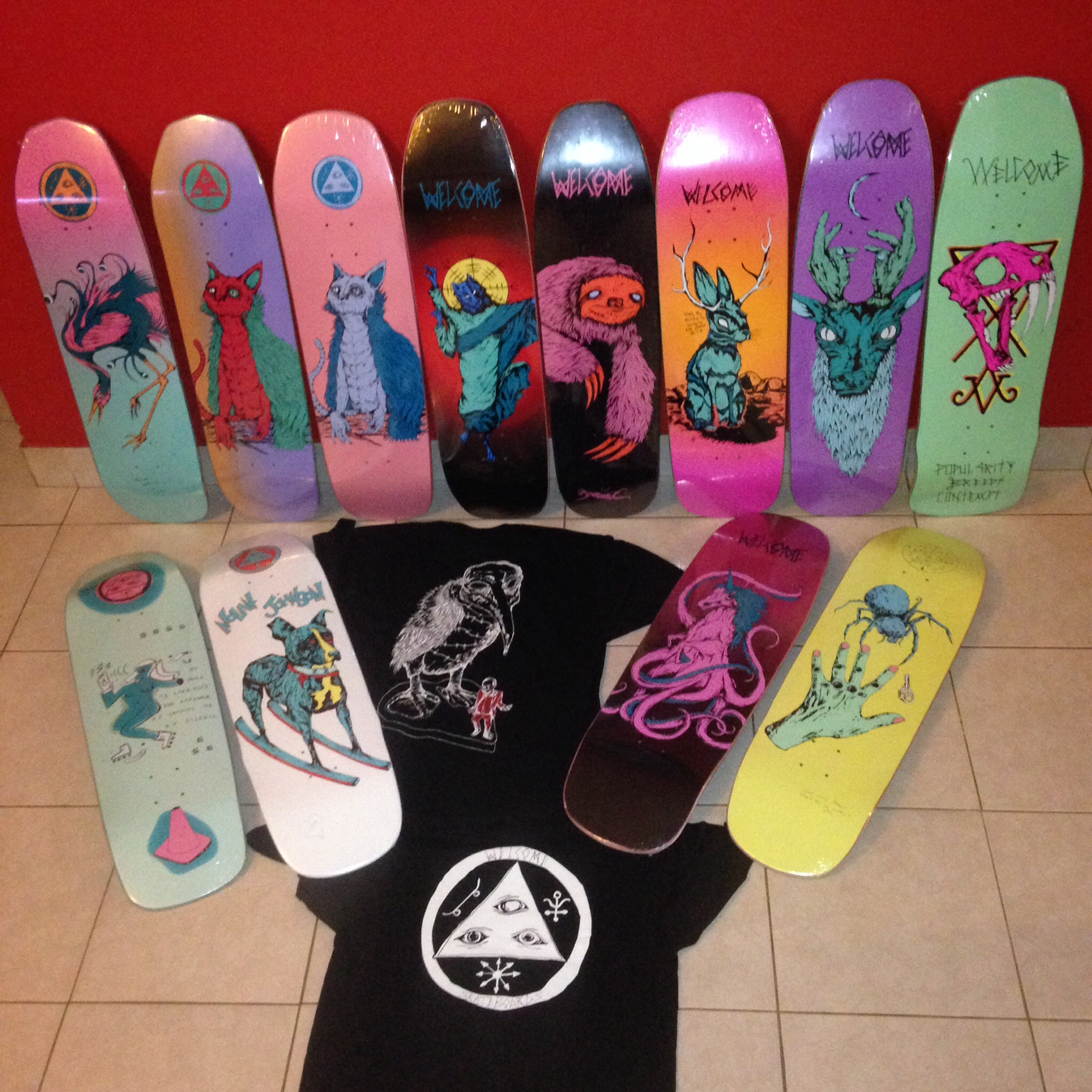Welcome skateboards!