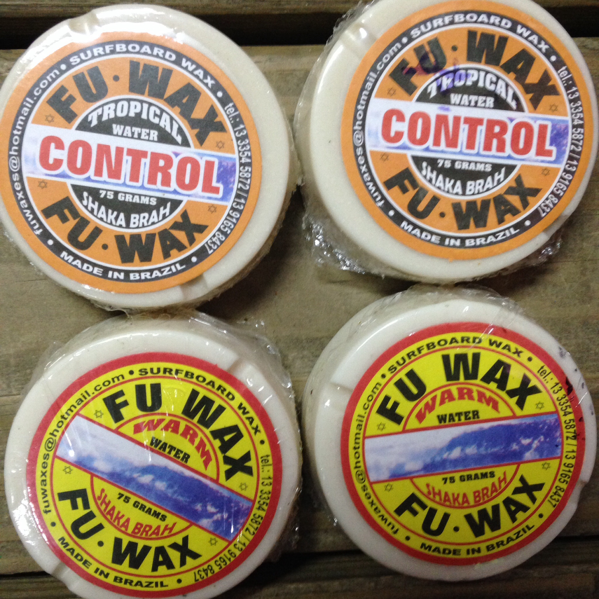 Fu wax! Warm and tropical!