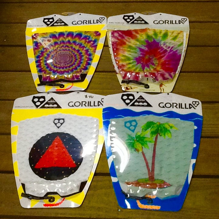 Any of these great new Gorilla grips would look terrific on your new Summer Jet surfboard!