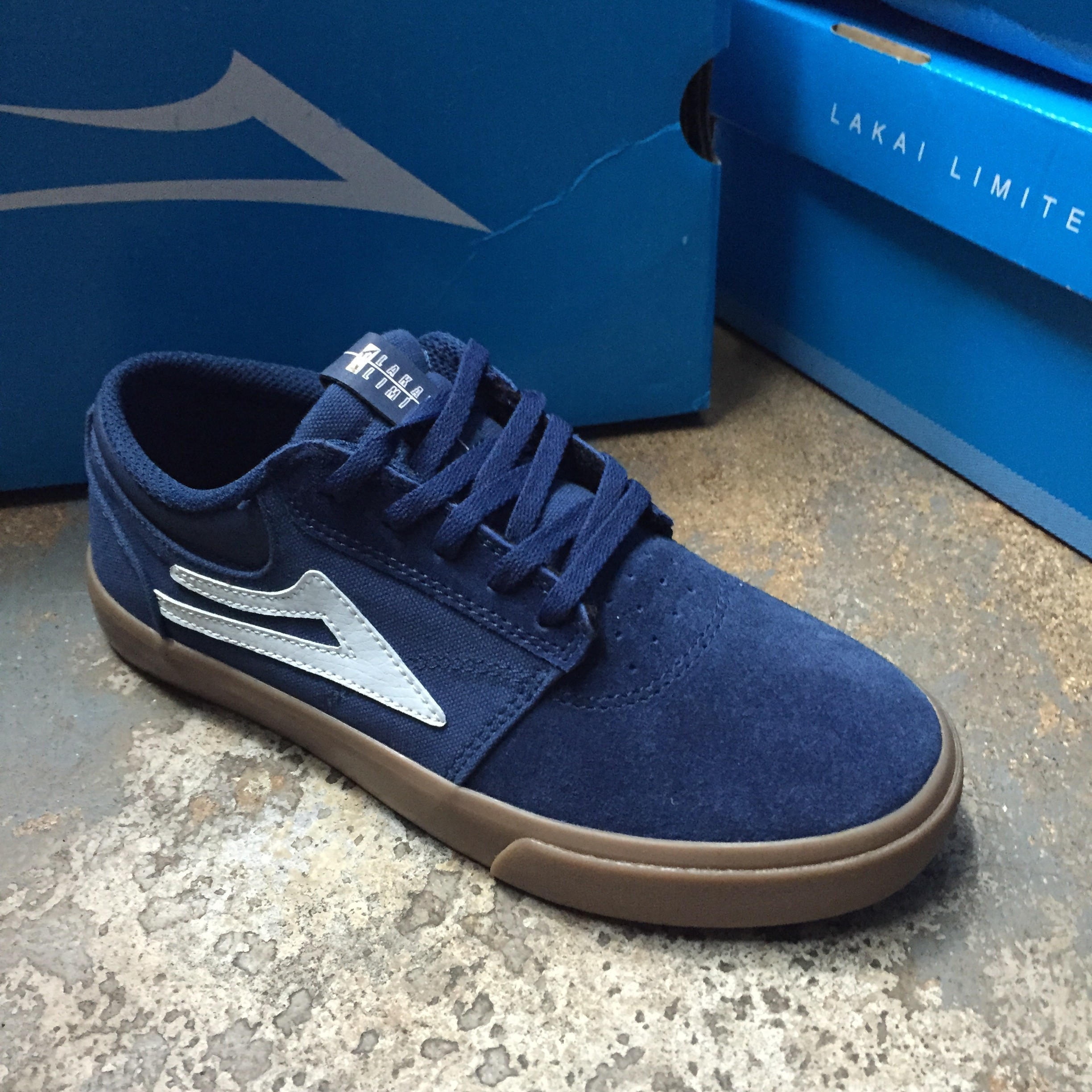 Lakai kids Griffin (navy/gum)