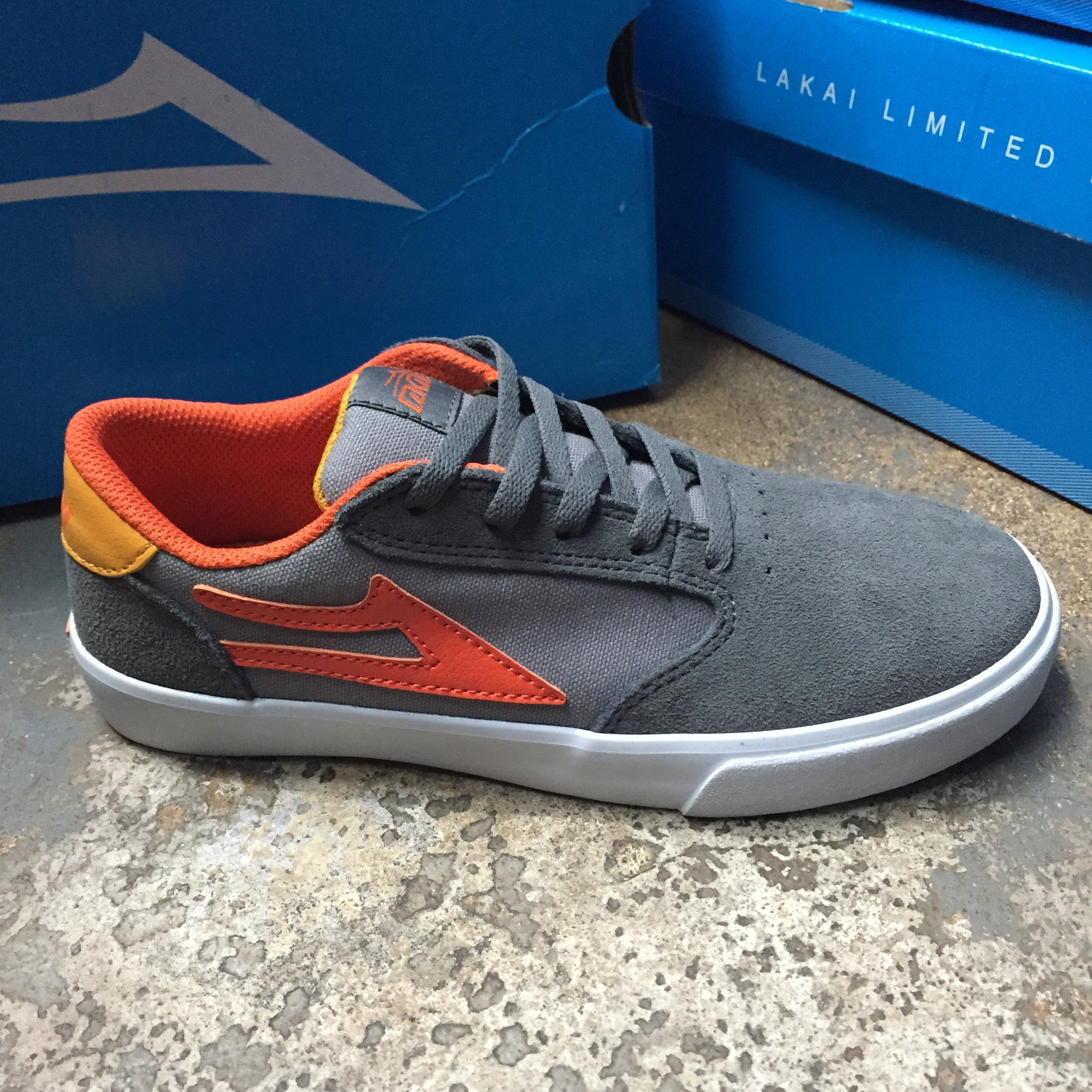 Lakai kids Pico (grey/orange)
