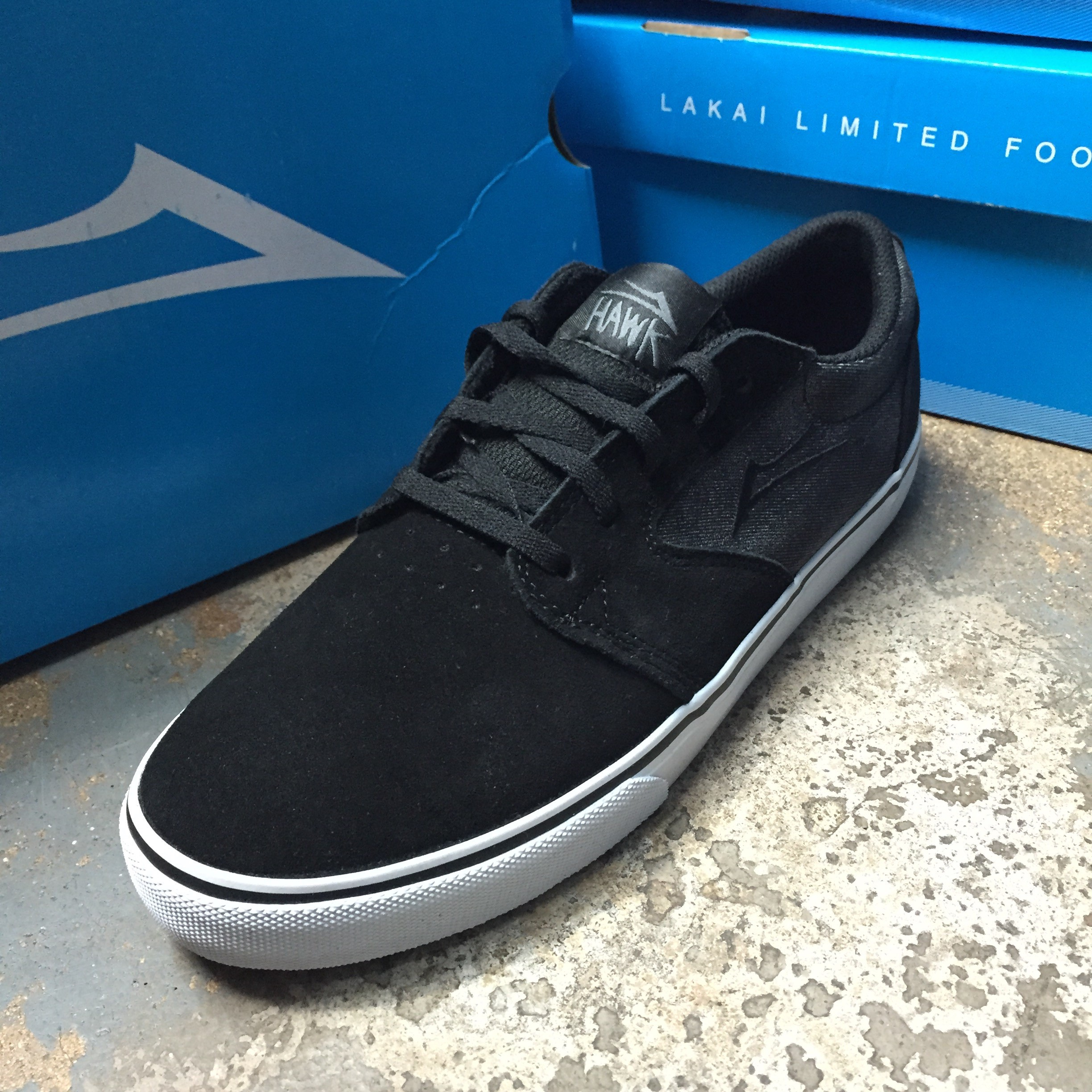 Lakai Fura Riley Hawk black suede