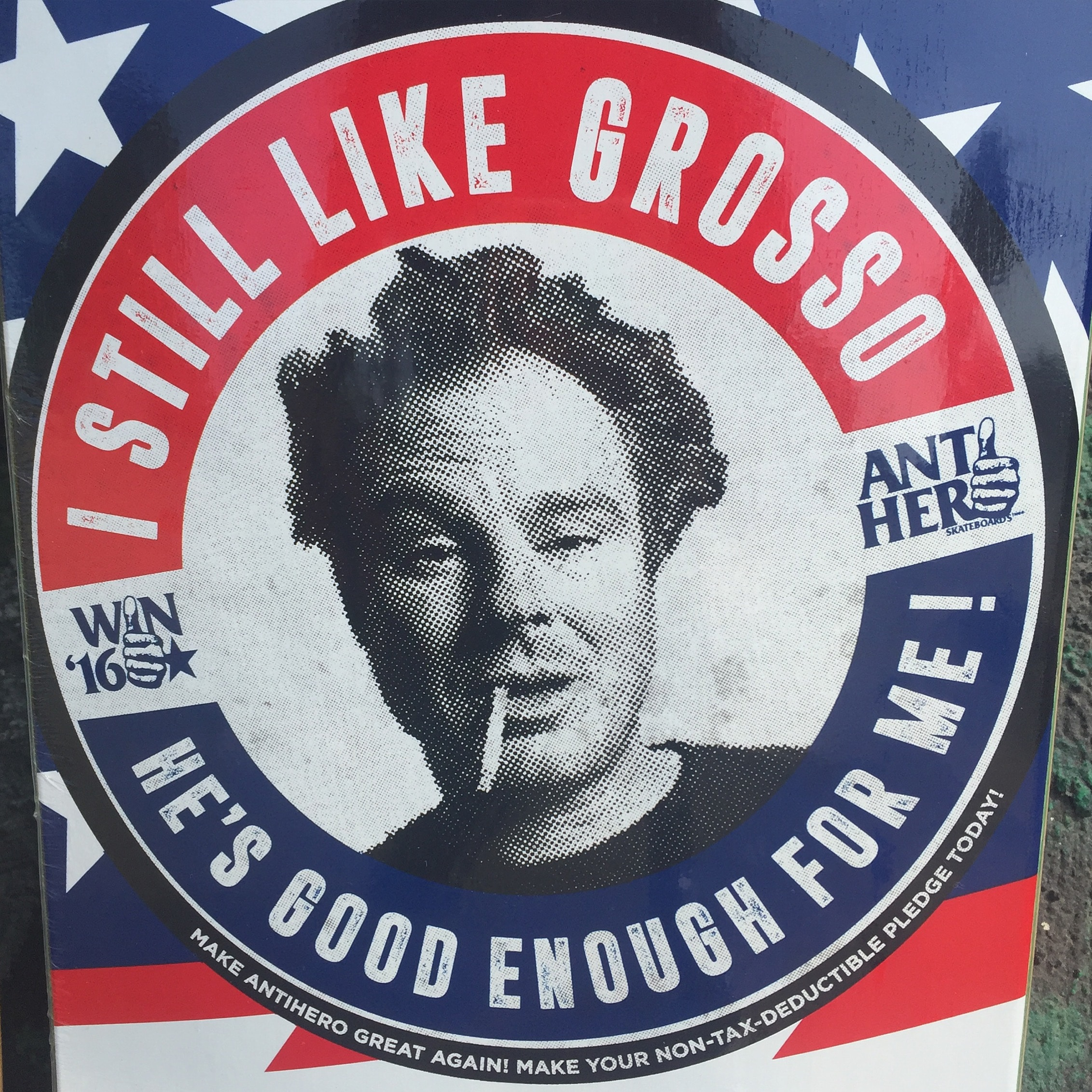 Vote for Grosso!