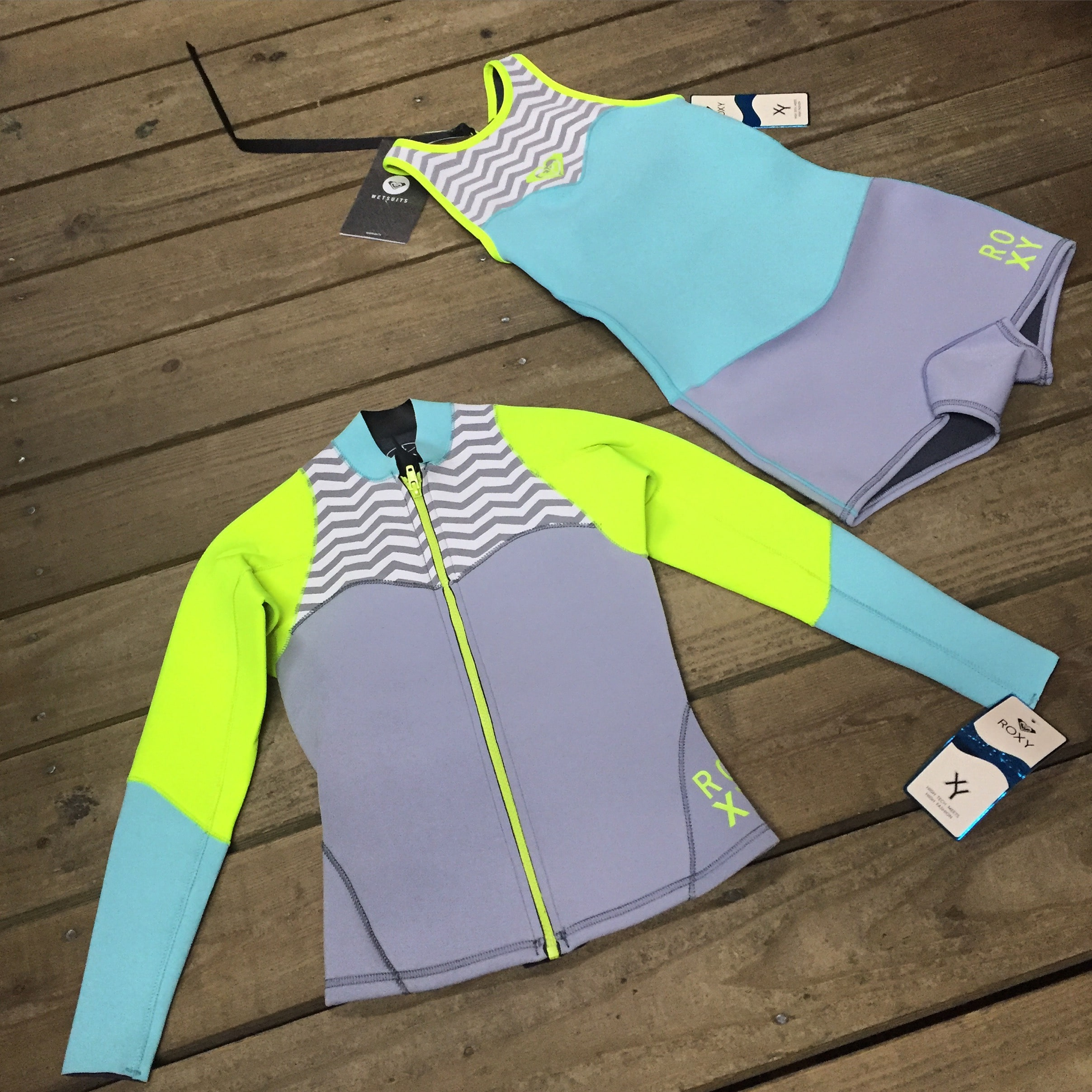 Stay stylish and warm with the latest neoprene from ROXY!