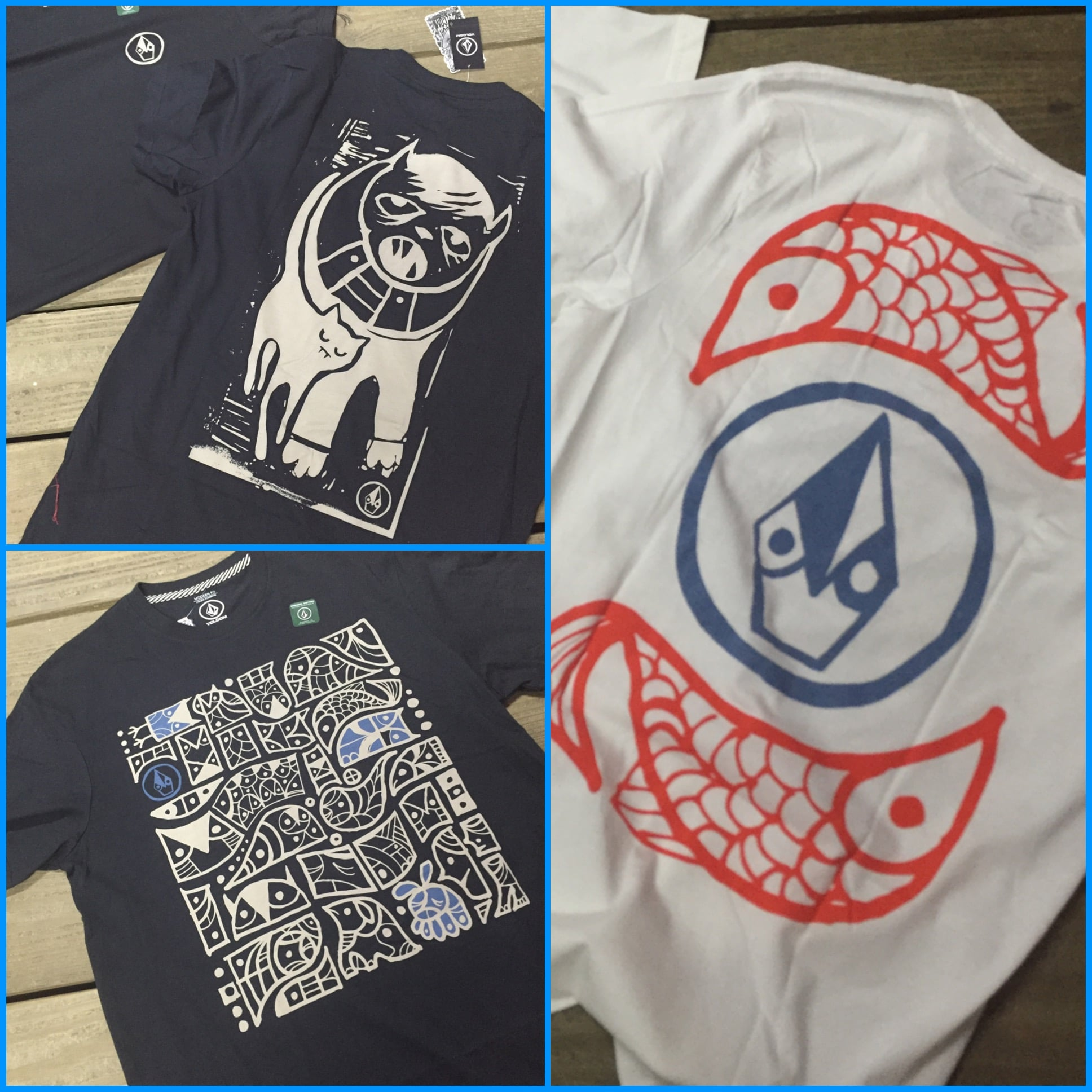 Volcom featured artist Don Pendleton collection