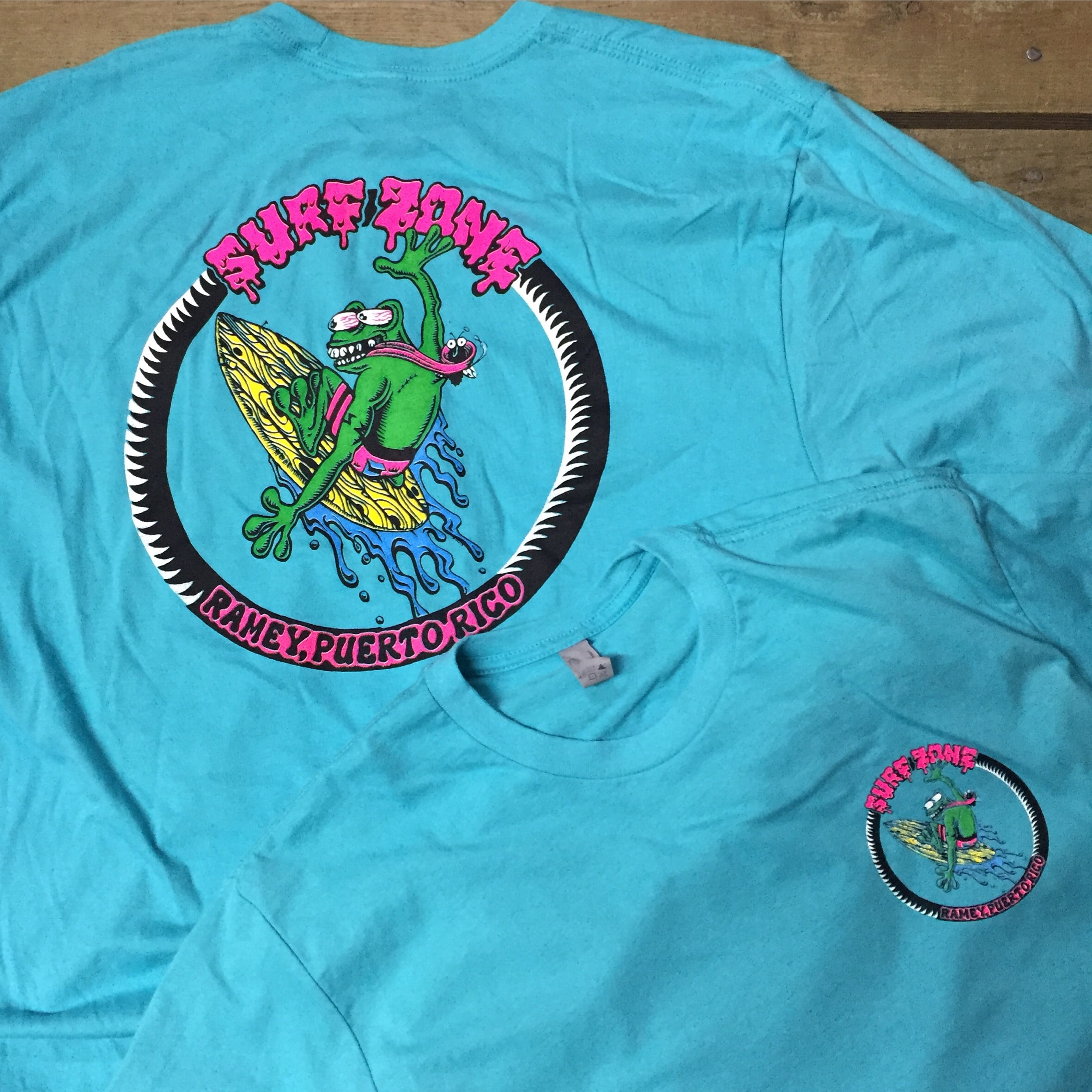 Get your dad a surf zone shirt!